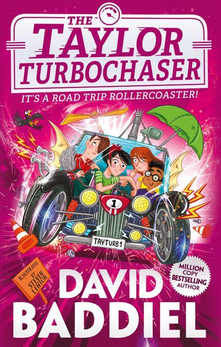 The Taylor TurboChaser - David Baddiel, Illustrated by Steven Lenton