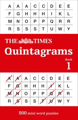 The Times Quintagrams: 500 mini word puzzles Paperback  by No Author