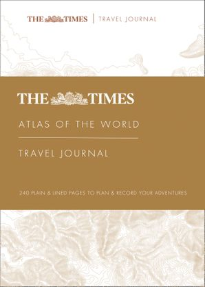 The Times Atlas of the World Travel Journal Hardcover  by No Author