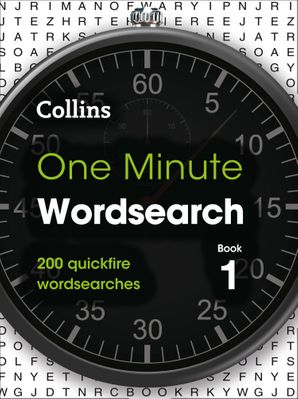 One Minute Wordsearch Book 1: 200 quickfire wordsearches Paperback  by No Author