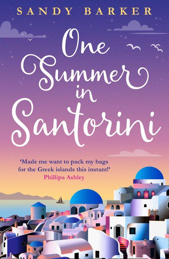One Summer in Santorini - Sandy Barker