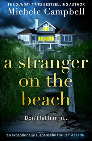 A Stranger on the Beach Paperback  by Michele Campbell