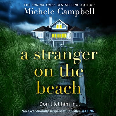 A Stranger on the Beach - Michele Campbell, Read by January LaVoy