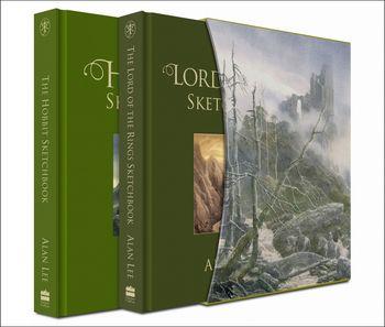 The Hobbit Sketchbook & The Lord of the Rings Sketchbook
