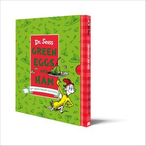 Green Eggs and Ham Slipcase Edition Hardcover 60th Birthday edition by Dr. Seuss