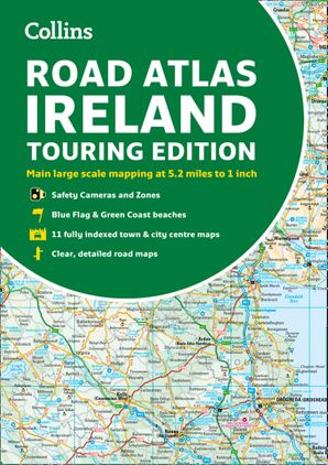Collins Ireland Road Atlas: Touring edition Paperback  by No Author