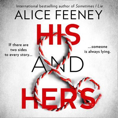 His and Hers - Alice Feeney, Read by Richard Armitage and Stephanie Racine