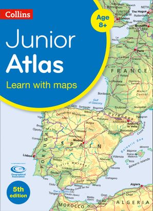 Collins Junior Atlas (Collins Primary Atlases) Paperback Fifth edition by No Author