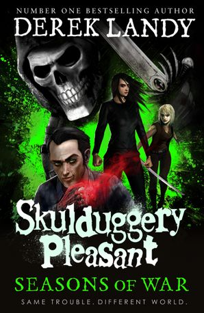 Seasons of War (Skulduggery Pleasant, Book 13) Hardcover  by Derek Landy