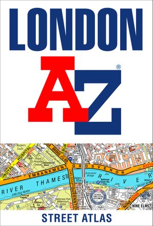 London A-Z Street Atlas Paperback  by No Author