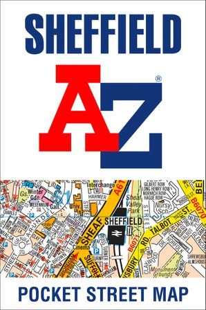 Sheffield A-Z Pocket Street Map Paperback  by No Author