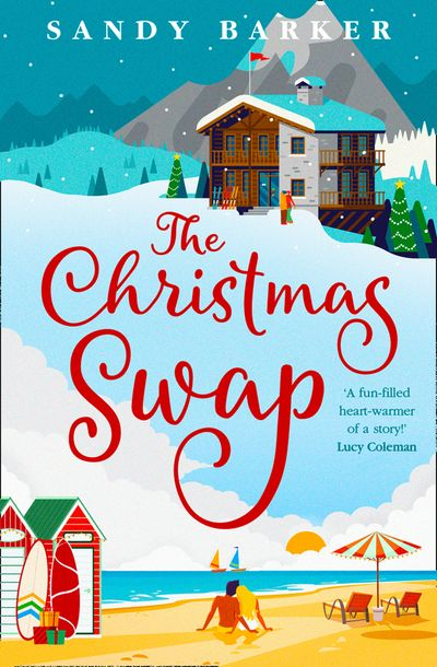 The Christmas Swap - Sandy Barker