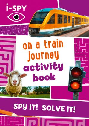 i-SPY On a Train Journey Activity Book (Collins Michelin i-SPY Guides) Paperback  by No Author