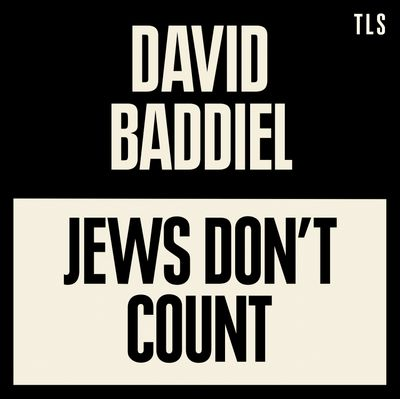 Jews Don't Count - David Baddiel, Read by David Baddiel