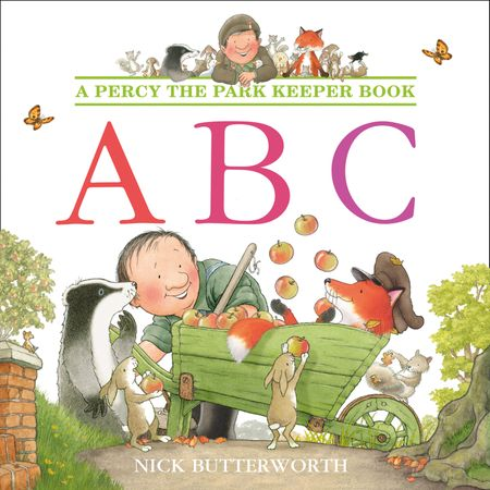 ABC (Percy the Park Keeper) - Nick Butterworth, Illustrated by Nick Butterworth