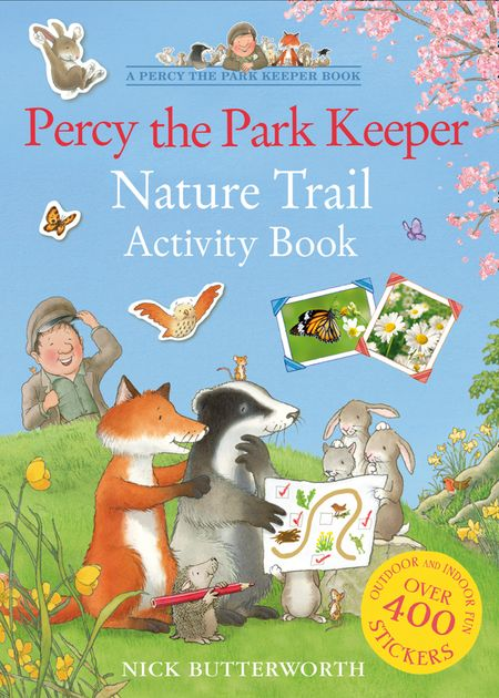 Percy the Park Keeper Nature Trail Activity Book - Nick Butterworth, Illustrated by Nick Butterworth