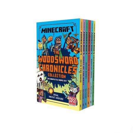 Minecraft Woodsword Chronicles 6 Book Slipcase - Nick Eliopulos