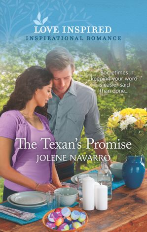 The Texan's Promise (Mills & Boon Love Inspired) (Cowboys of Diamondback Ranch, Book 3)
