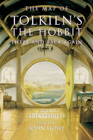 The Map of Tolkien's the Hobbit Paperback  by Brian Sibley