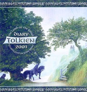 Tolkien Diary 2001 Paperback  by 2771