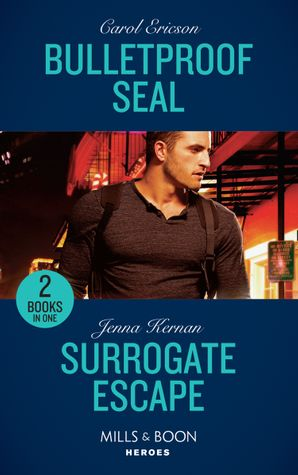 Bulletproof Seal: Bulletproof SEAL (Red, White and Built) / Surrogate Escape (Apache Protectors: Wolf Den) (Mills & Boon Heroes) Paperback  by Carol Ericson