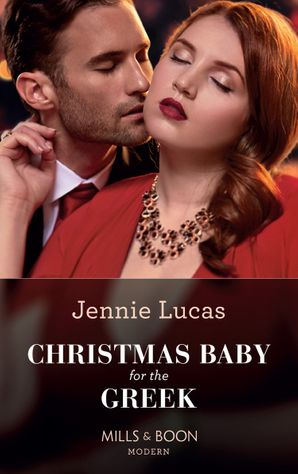 Christmas Baby For The Greek Paperback  by Jennie Lucas