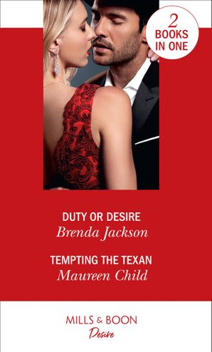 Duty Or Desire: Duty or Desire / Tempting the Texan (Texas Cattleman's Club: Inheritance) Paperback  by Brenda Jackson