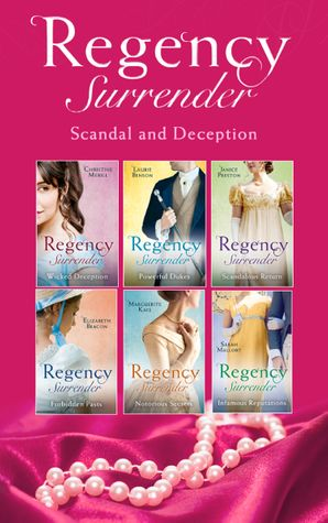 Regency Surrender: Scandal And Deception (Mills & Boon Collections) Paperback  by Christine Merrill