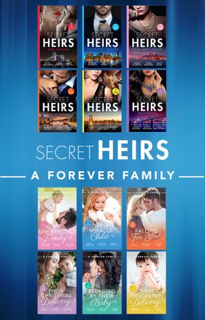 Secret Heirs And A Forever Family (Mills & Boon Collections) Paperback  by Cathy Williams
