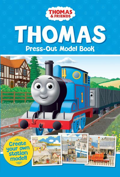 Thomas Press-Out Model Book -