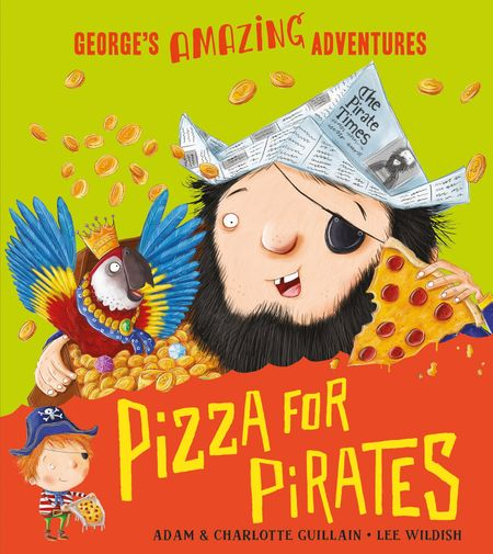DEAN Pizza for Pirates - Adam Guillain and Charlotte Guillain