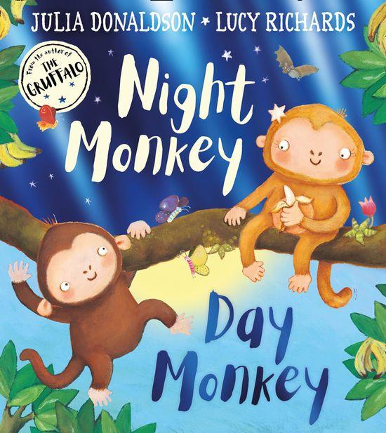 Night Monkey, Day Monkey - Julia Donaldson, Illustrated by Lucy Richards