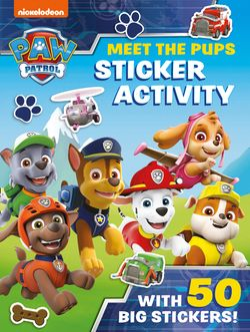 Paw Patrol Sticker and Activity