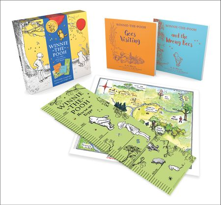 Winnie-the-Pooh: Gift Box (with 2x books, height chart & poster) - A.A. Milne