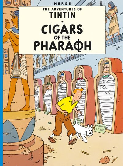 Cigars of the Pharaoh (The Adventures of Tintin) - Hergé