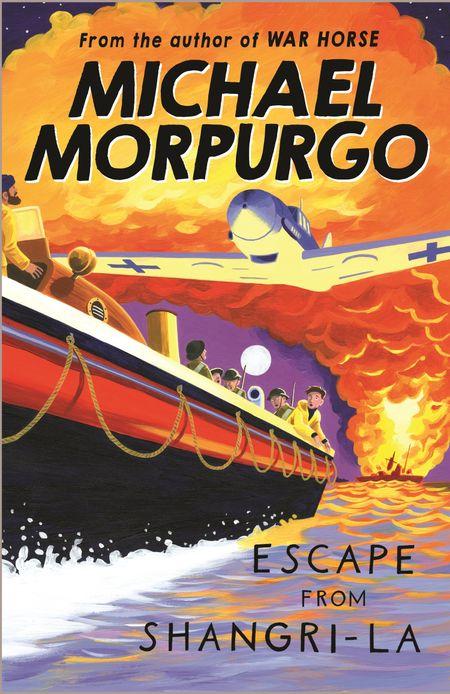 Escape from Shangri-La - Michael Morpurgo