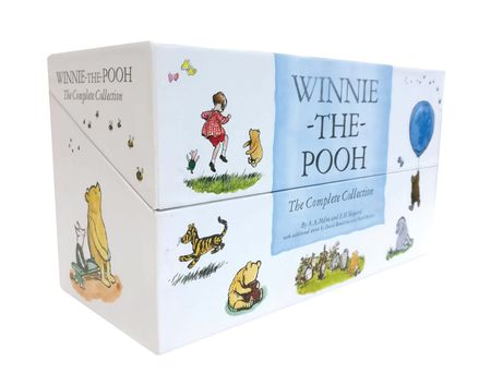 Winnie-the-Pooh Complete 30 copy slipcase - A. A. Milne, Illustrated by E. H. Shepard