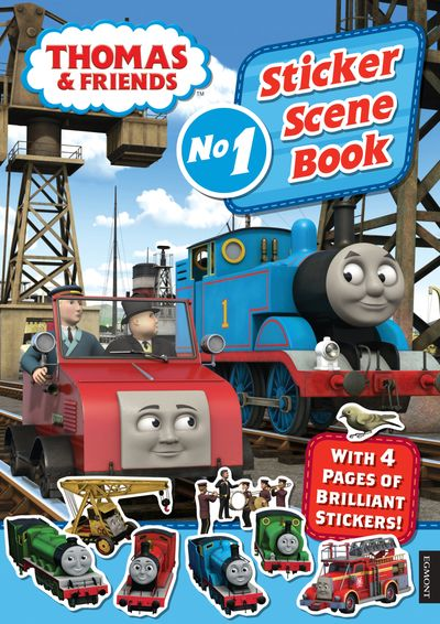 Thomas & Friends: Sticker Scene Book -