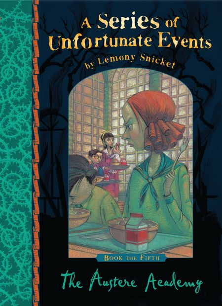 The Austere Academy (A Series of Unfortunate Events) - Lemony Snicket