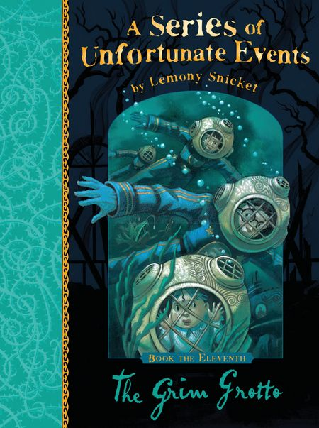 The Grim Grotto (A Series of Unfortunate Events) - Lemony Snicket, Illustrated by Brett Helquist