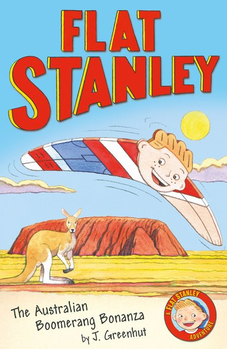 Jeff Brown's Flat Stanley: The Australian Boomerang Bonanza (Flat Stanley) - Josh Greenhut
