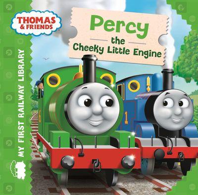 Thomas & Friends: My First Railway Library: Percy the Cheeky Little Engine (My First Railway Library) - Egmont Publishing UK