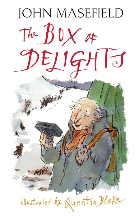 The Box of Delights - John Masefield, Illustrated by Quentin Blake