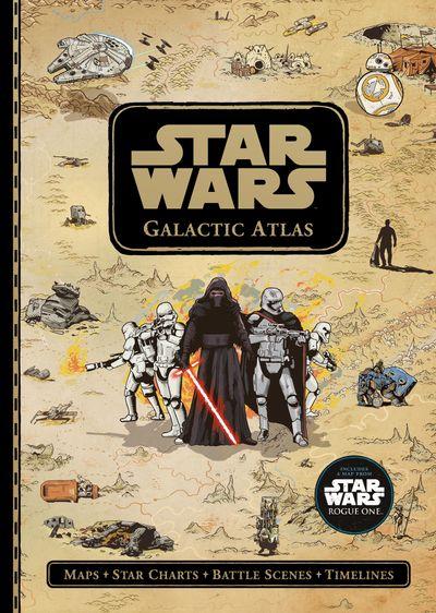 Star Wars: Galactic Atlas - Lucasfilm, Illustrated by Tim McDonagh