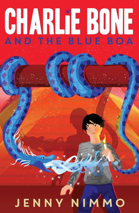 Charlie Bone and the Blue Boa (Charlie Bone) - Jenny Nimmo