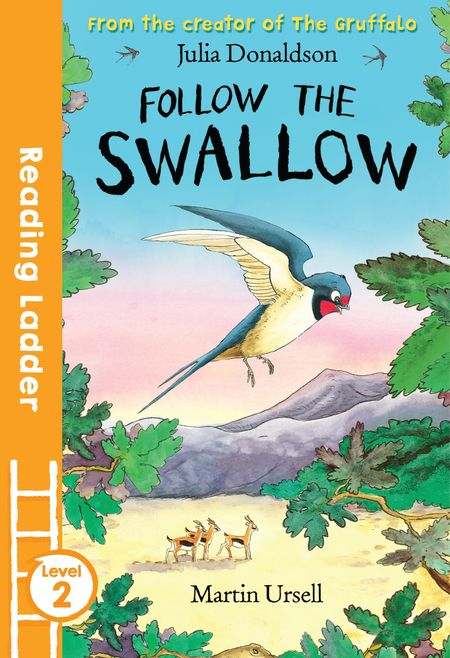 Follow the Swallow (Reading Ladder Level 2) - Julia Donaldson, Illustrated by Martin Ursell