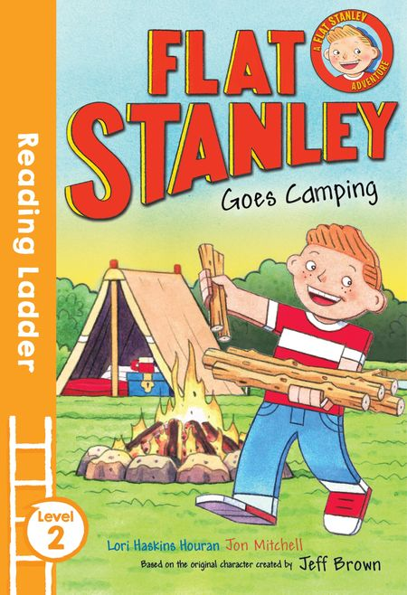 Flat Stanley Goes Camping: Blue Banana (Reading Ladder Level 2) - Jeff Brown, Illustrated by Jon Mitchell