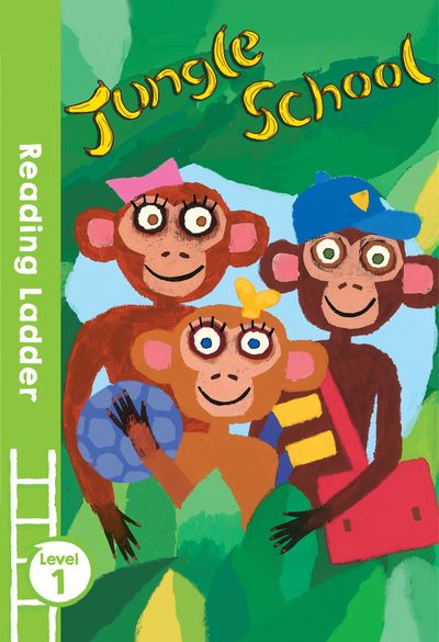 Jungle School (Reading Ladder Level 1) - Roz Davison and Elizabeth Laird, Illustrated by David Sim