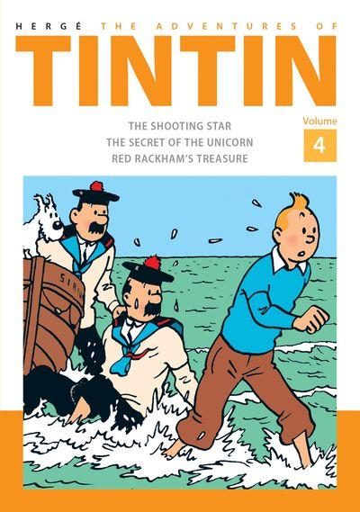 The Adventures of Tintin Volume 4 - Hergé