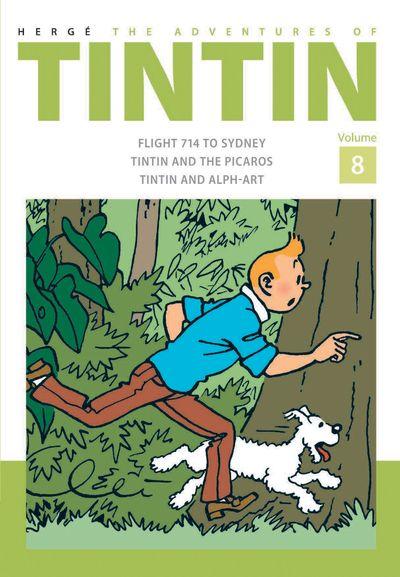 The Adventures of Tintin Volume 8 - Hergé